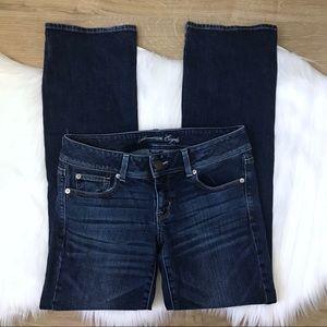 [AEO] Slim Boot Dark Wash Denim Jeans 6 Regular